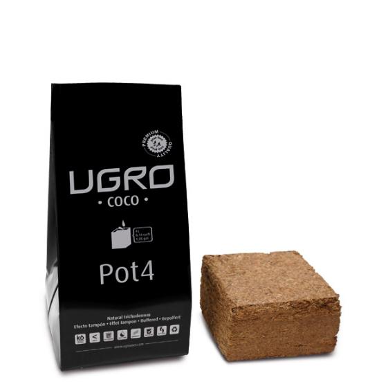Ugro Pot 4 кокосовый брикет с горшком 1