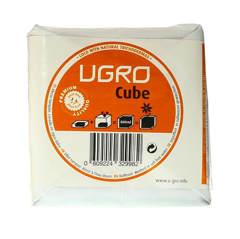 Ugro Cube кокосовый брикет 1
