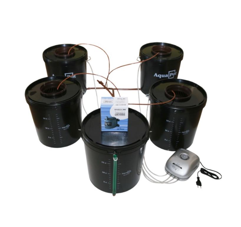 Гидропонная система AquaPot Quatro 1
