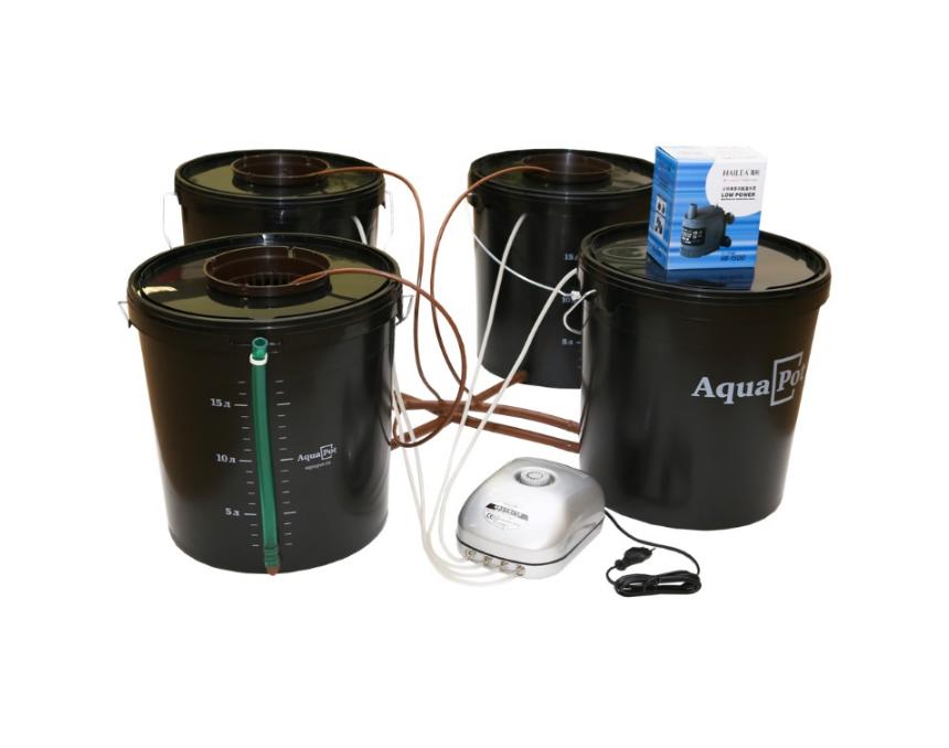 Гидропонная система AquaPot Trio 1