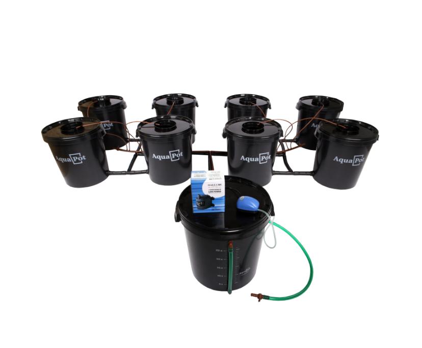 Гидропонная система AquaPot XL 8 1