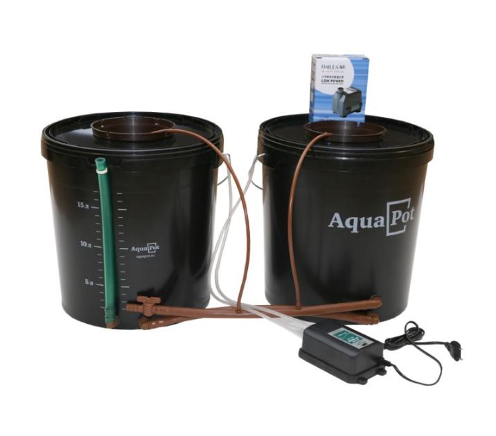 Гидропонная система AquaPot Duo 1