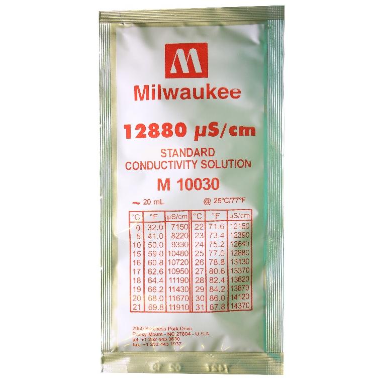 Калибровочный раствор Milwaukee для TDS метра 12880 ppm 1