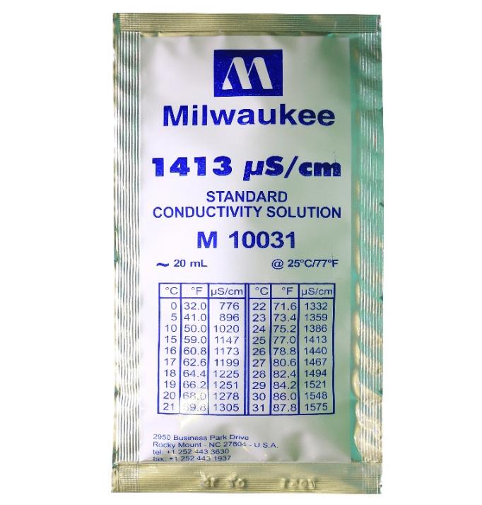Калибровочный раствор TDS 1413 ppm Milwaukee 1