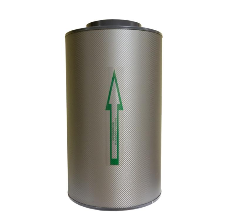 Угольный фильтр канальный Клевер 1000 м3/ 200 1