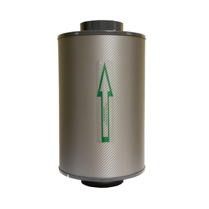 Угольный фильтр канальный Клевер 250 м3/ 100 1