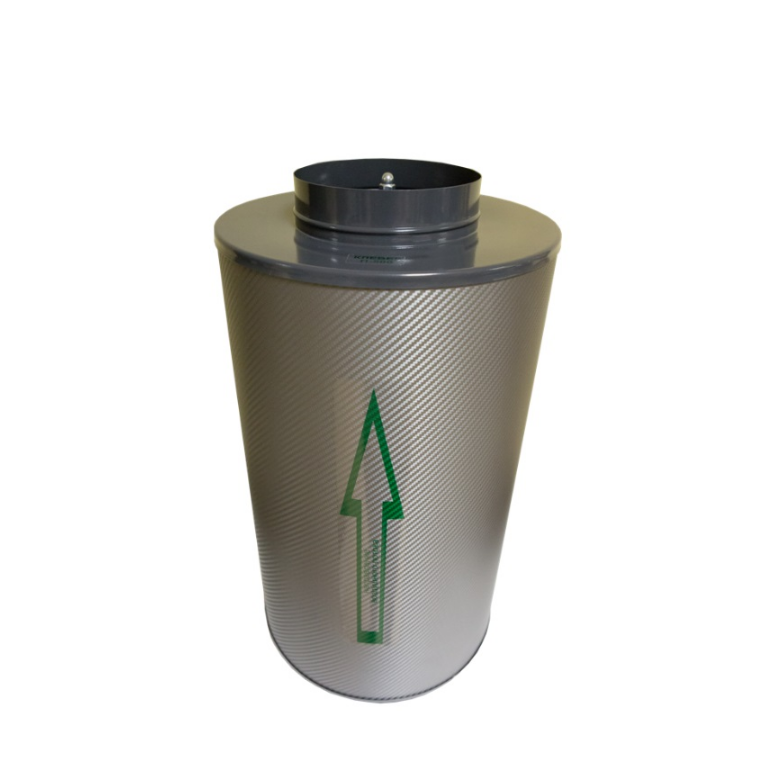 Угольный фильтр канальный Клевер 500 м3/ 160 1