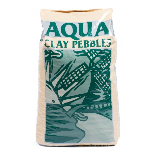 Керамзит CANNA Aqua Clay Pebbles 45л 1