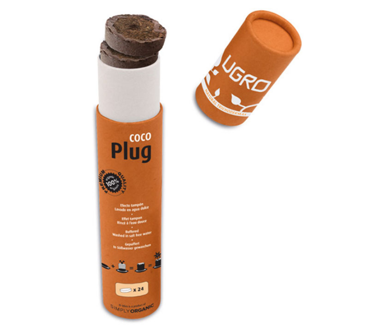Ugro Plug кокосовые таблетки для проращивания 1
