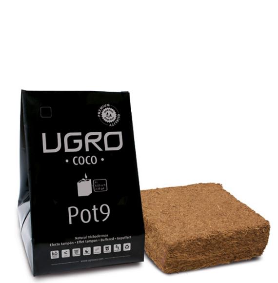 Ugro Pot 9 кокосовый брикет с горшком 1