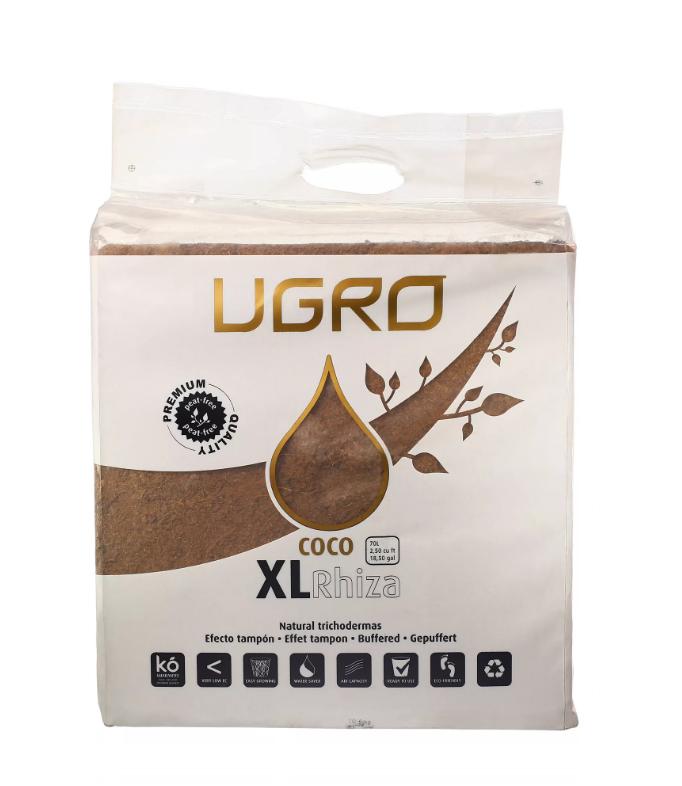 Ugro XL Rhiza кокосовый брикет 1