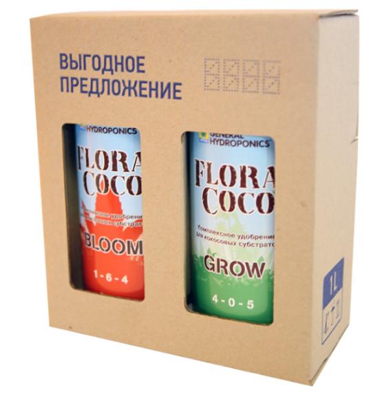 Комплект удобрений GHE Flora Coco 1