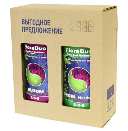Комплект удобрений GHE Flora Duo HW (для жесткой воды) 1