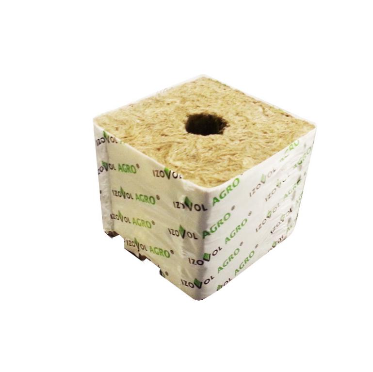 Кубик Izovol Agro из минеральной ваты 1