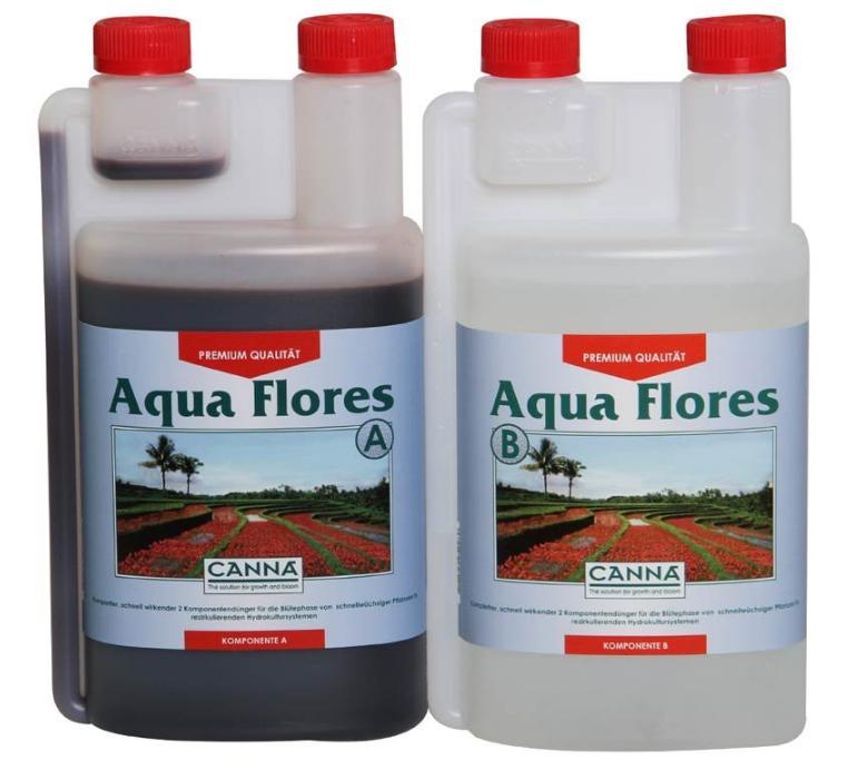 Удобрение Canna Aqua Flores A+B 1