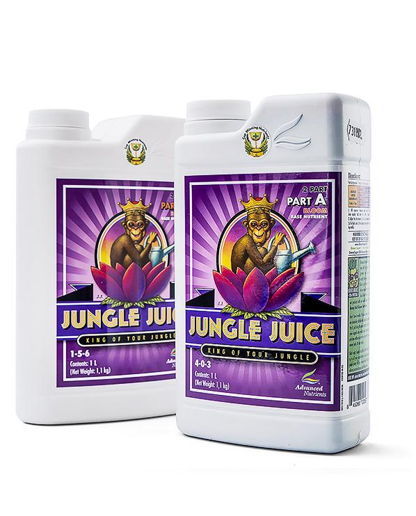 Удобрение Advanced Nutrients Jungle Juice Bloom A+B 1