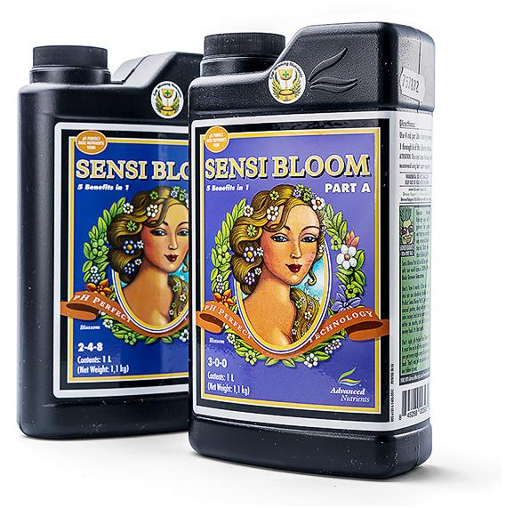 Удобрение Advanced Nutrients Sensi Bloom A+B 1