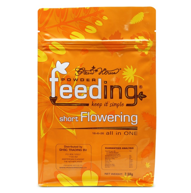 Удобрение Powder Feeding Short Flowering 1