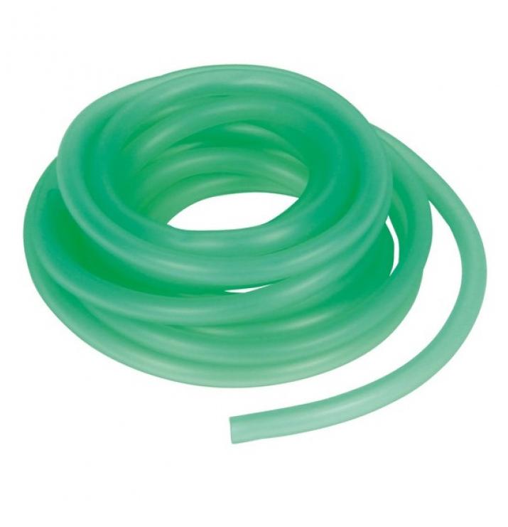 Шланг силиконовый 6x4 мм зелёный 1