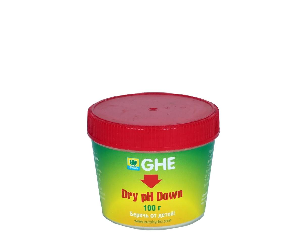 pH Down GHE сухой 100 гр 1