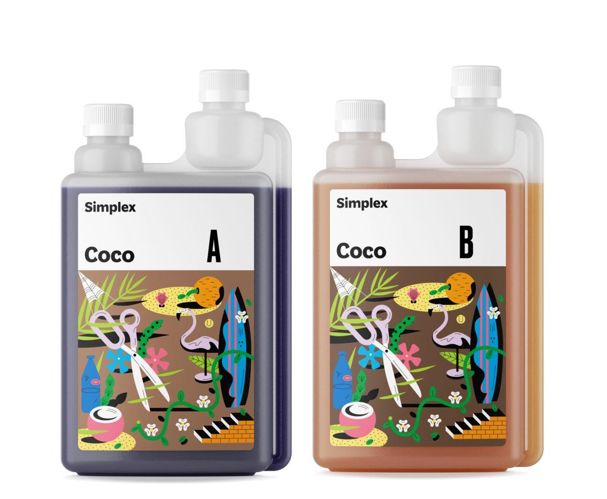 Удобрение Simplex Coco A B 1