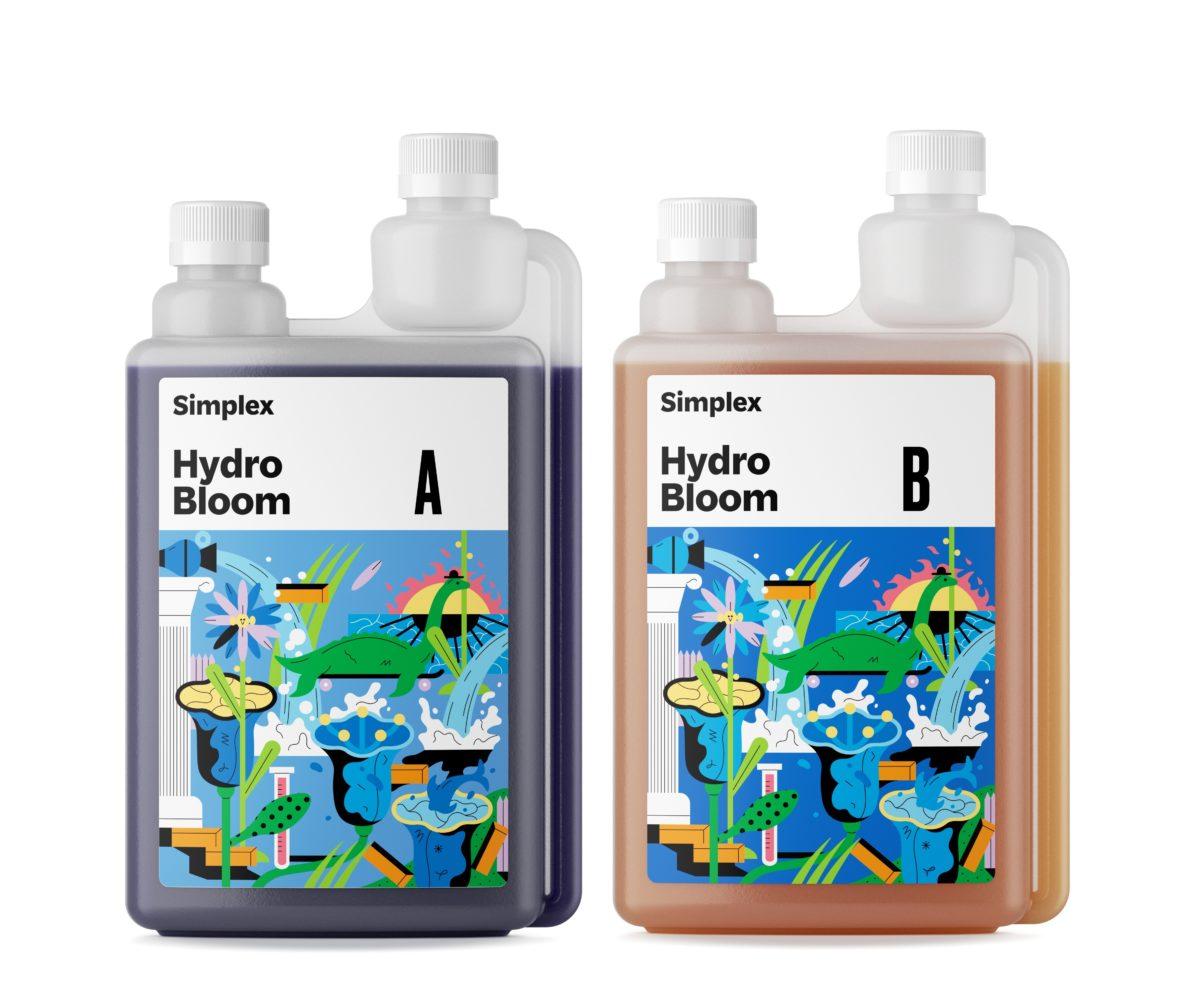 Удобрение Simplex Hydro Bloom A B 1