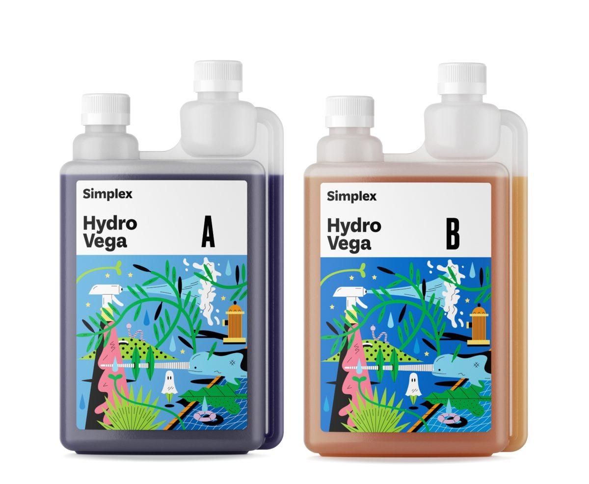 Удобрение Simplex Hydro Vega A B 1