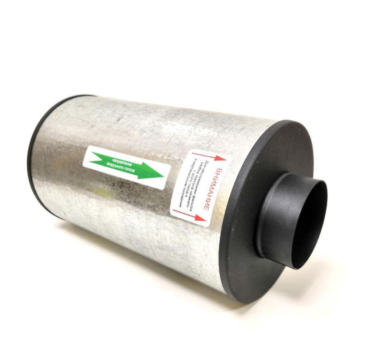 Канальный угольный фильтр MagicAir К-350 м3/ 125 1
